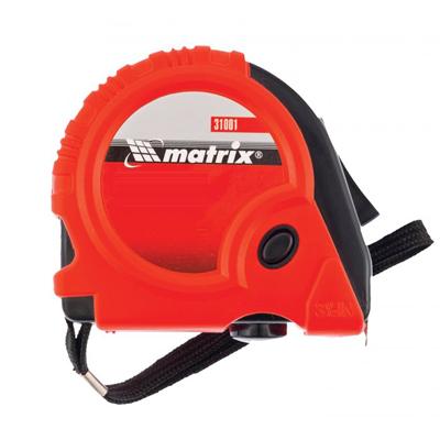 Рулетка Matrix Rubber обрезиненный корпус купить по цене 130 руб.