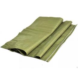 Мешок для мусора плетеный зеленый 55*95см