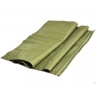 Мешок для мусора плетеный зеленый 55*95см купить по цене 10 руб.