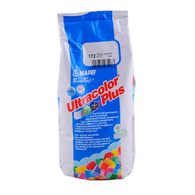 Затирка для швов Mapei Ultracolor Plus 2кг купить по цене 350 руб.