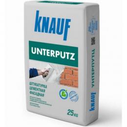 Штукатурка цементная фасадная КНАУФ УНТЕРПУТЦ (UNTERPUTZ) 25кг