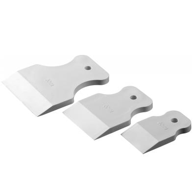 Набор шпателей 40-60-80мм, белая резина, 3шт Matrix купить по цене 70 руб.