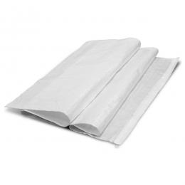 Мешок для мусора плетеный белый