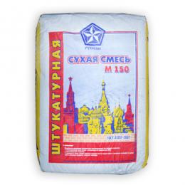 Сухая смесь штукатурная М150 РУСЕАН 40кг