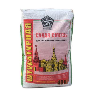 Сухая смесь штукатурная для машинного нанесения М150 РУСЕАН 40кг купить по цене 260 руб.