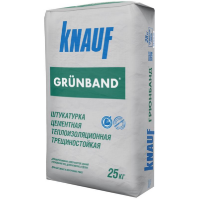Штукатурка цементная фасадная КНАУФ ГРЮНБАНД (GRUNBAND) 25кг купить по цене 270 руб.