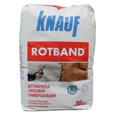 Штукатурка гипсовая Кнауф Ротбанд 30кг купить по цене 390 руб.