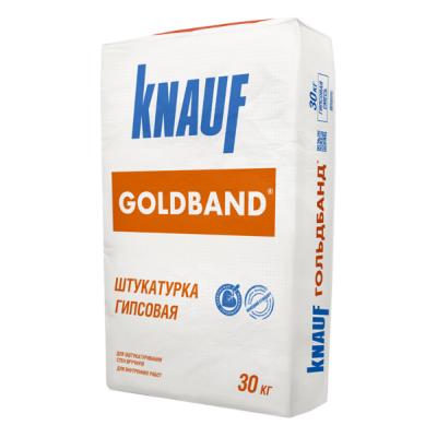 Штукатурка гипсовая Кнауф ГОЛЬДБАНД (GOLDBAND) 30кг купить по цене 265 руб.