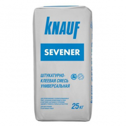 Смесь штукатурно-клеевая Кнауф Севенер 25кг