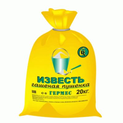 Известь гашеная Germes 20кг купить по цене 130 руб.