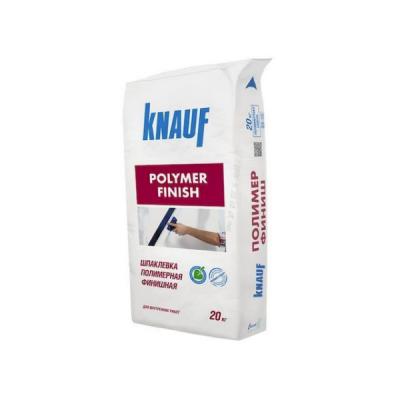Шпаклевка полимерная финишная Кнауф ПОЛИМЕР ФИНИШ (POLYMER FINISH) 20кг купить по цене 460 руб.