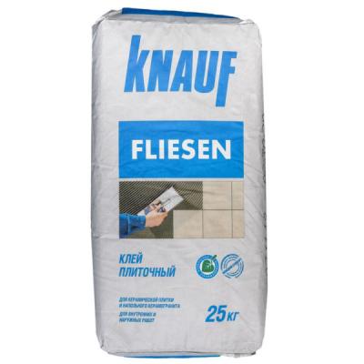 Плиточный клей Knauf Флизен 25кг купить по цене 260 руб.