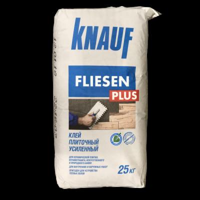 Плиточный клей Knauf Флизен Плюс 25кг купить по цене 330 руб.