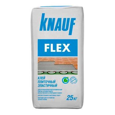 Плиточный клей Knauf Флекс 25кг купить по цене 520 руб.