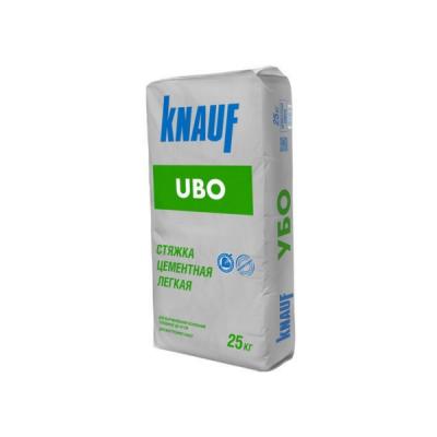 Стяжка цементная легкая Кнауф Убо 30-300мм 25кг купить по цене 520 руб.