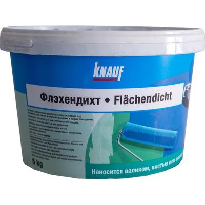 Гидроизоляция Кнауф Флэхендихт 5кг купить по цене 1 480 руб.