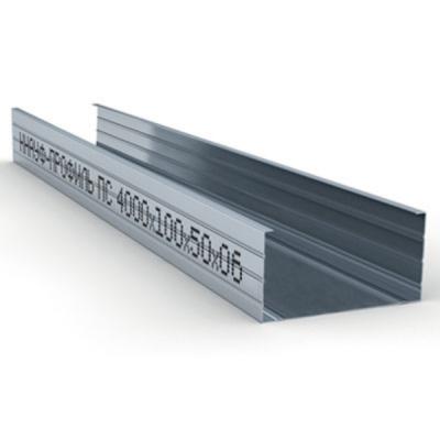 Профиль стоечный ПС 100х50х0,6мм L=4м Кнауф купить по цене 820 руб.