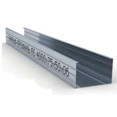 Профиль стоечный ПС 75х50х0,6мм L=4м Кнауф купить по цене 725 руб.
