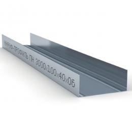 Профиль направляющий ПН 100х40х0,6мм L=3м Кнауф