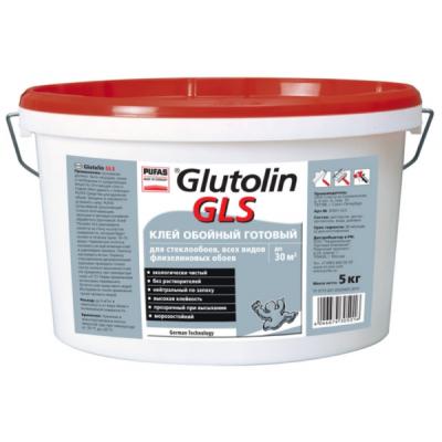 Клей для стеклообоев Pufas Glutolin GLS готовый 10л купить по цене 850 руб.