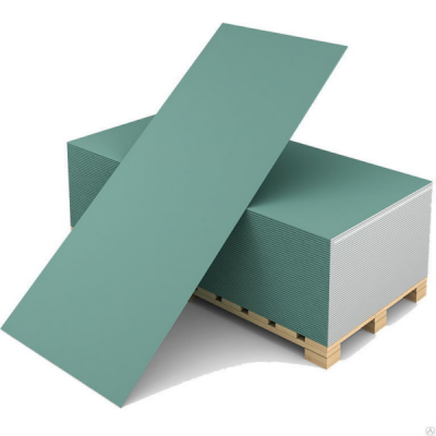 Гипсокартон влагостойкий ГКЛВ Волма 2500х1200х9,5мм купить по цене 310 руб.