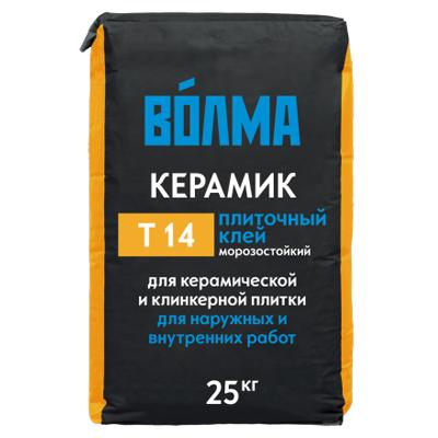 Плиточный клей Волма Керамик 25кг купить по цене 220 руб.