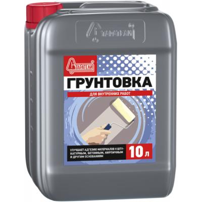 Грунтовка Старатели для внутренних работ 10л купить по цене 350 руб.