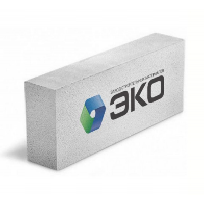 Газобетонный блок ЭКО 600х250х125мм купить по цене 110 руб.