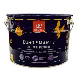 Краска интерьерная Tikkurila Euro Smart 2 9л