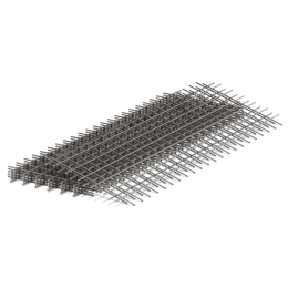 Сетка сварная 50х50х4мм карта 0,5х2м