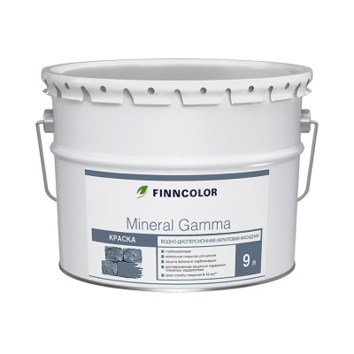 Краска фасадная Tikkurila Mineral Gamma белый (база АР) 9л купить по цене 2 890 руб.