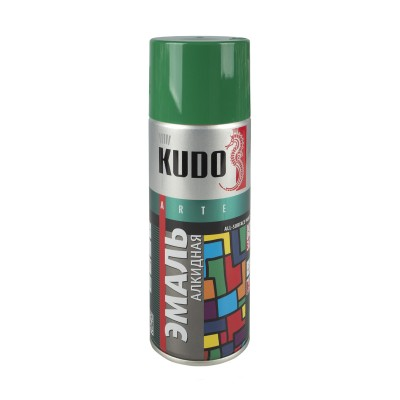 Эмаль аэрозольная алкидная Kudo 520мл
