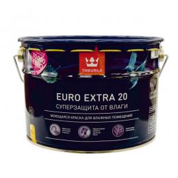 Краска моющаяся Tikkurila Euro Extra 20 9л