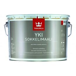 Краска для цоколя Tikkurila Yki Sokkelimaali белый (база А) 9л