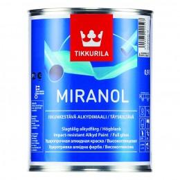 Эмаль алкидная Tikkurila Miranol белый (база А) 0,9л