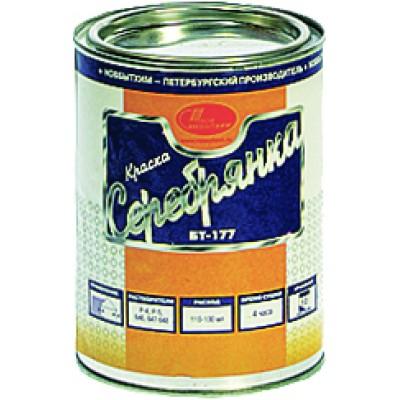 Краска Серебрянка БТ-177 Новбытхим 1л купить по цене 374 руб.