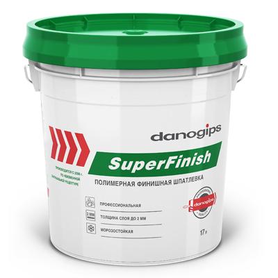 Шпаклевка готовая DANOGIPS ШИТРОК (SUPERFINISH) 28кг купить по цене 1 600 руб.