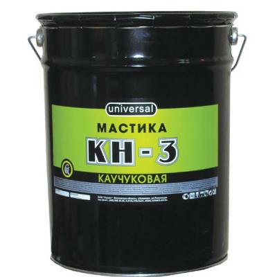 Мастика каучуковая КН-3 26кг купить по цене 900 руб.
