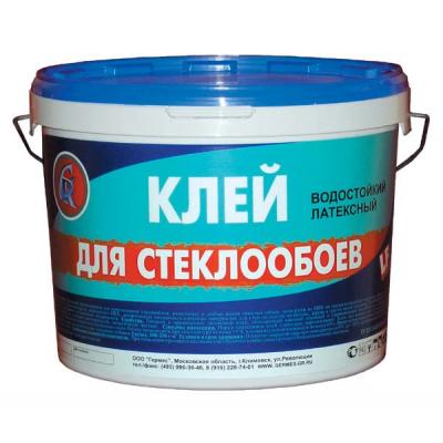 Клей для стеклообоев Germes готовый 10л купить по цене 440 руб.