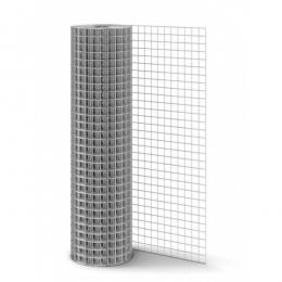 Сетка оцинкованная 10х10х0,6мм рулон 1х15м