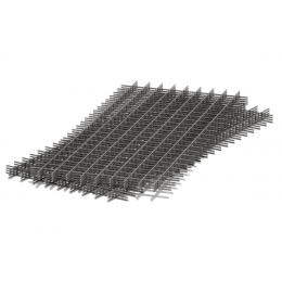 Сетка сварная 100х100х4мм карта 1,5х2м