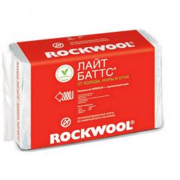 Каменная вата Роквул Лайт Баттс 1000х600х50мм (уп/10шт, 6м2, 0,3м3)