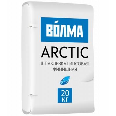 Шпаклевка гипсовая финишная Волма Арктик 20кг купить по цене 280 руб.