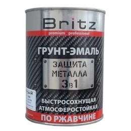 Грунт-эмаль 3в1 по ржавчине Britz 2,2кг