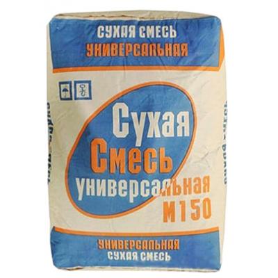 Сухая универсальная смесь М150 40кг купить по цене 100 руб.