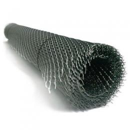 Сетка ПВС оцинкованная тонкая рулон 1х7м