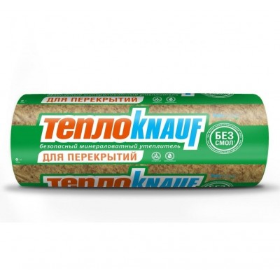 Утеплитель ТеплоКнауф для Перекрытий 1220х7380х50мм (уп/2шт, 18м2, 0,9м3) купить по цене 1 450 руб.