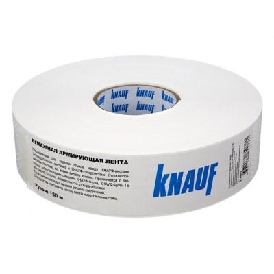 Лента армирующая бумажная Кнауф 52мм*150м купить по цене 260 руб.