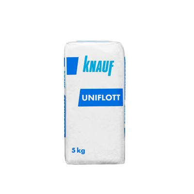 Шпаклевка гипсовая Кнауф УНИФЛОТ (UNIFLOTT) 5кг купить по цене 500 руб.