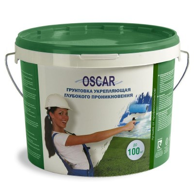 Грунтовка Оскар укрепляющая глубокого проникновения 10кг купить по цене 570 руб.